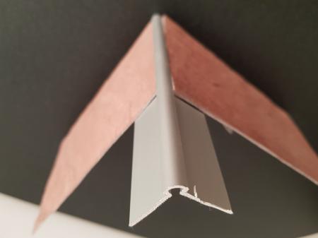 Profil metalic SILVER pentru colt exterior rotund 2,7 ml [4]