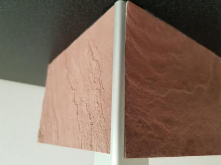 Profil metalic SILVER pentru colt exterior rotund 2,7 ml [3]