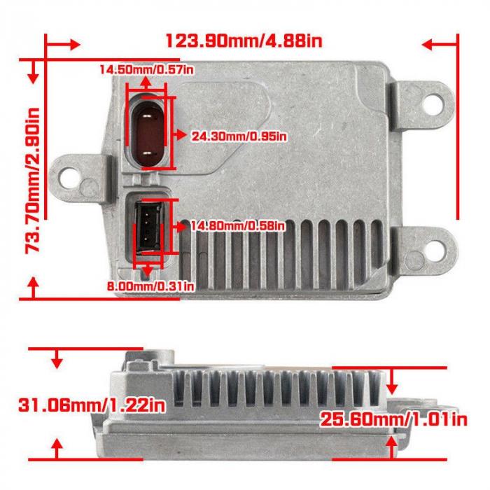 Balast Xenon OEM Compatibil Osram 83110009044 / 831-10009-044 / 35 XT-D1/12V [3]