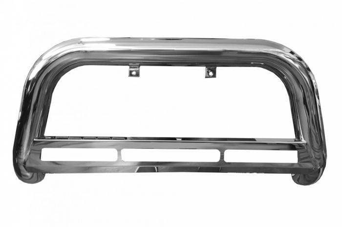 Bullbar inox Mitsubishi L200 Triton 2015, 2016, 2017, 2018, 2019 Ø76mm MTA111 [1]