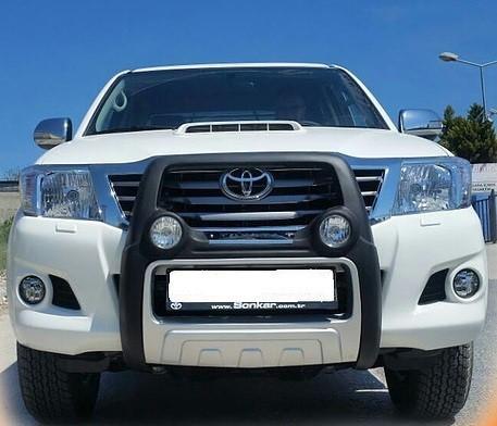 Bullbar poliuretan cu proiectoare Toyota Hilux 2005, 2006, 2007, 2008, 2009, 2010, 2011 TYA405 [1]