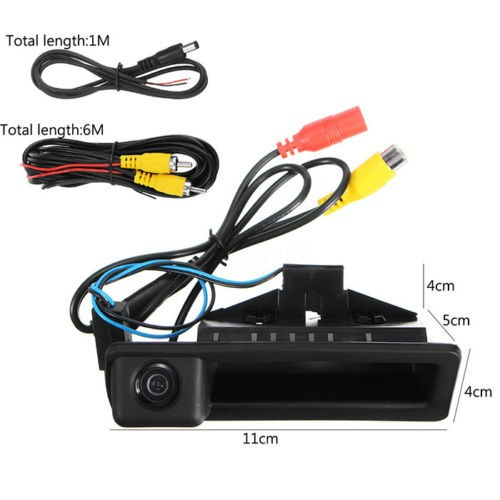 Camera marsarier BMW E39, E60, E90, E70 pe manerul de portbagaj - LS8003 [3]
