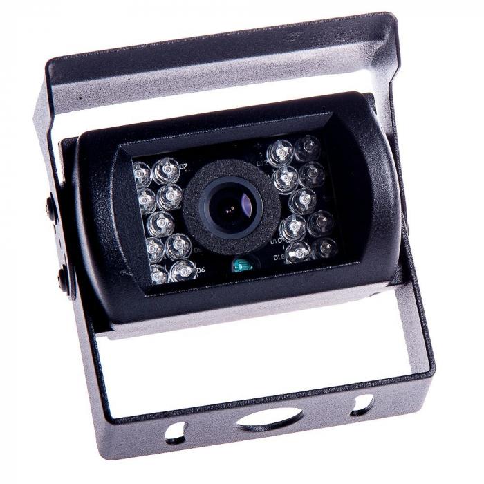 Camera marsarier cu infrarosu 12V - 24V C134 pentru Camioane, Autocare, Bus-uri [0]
