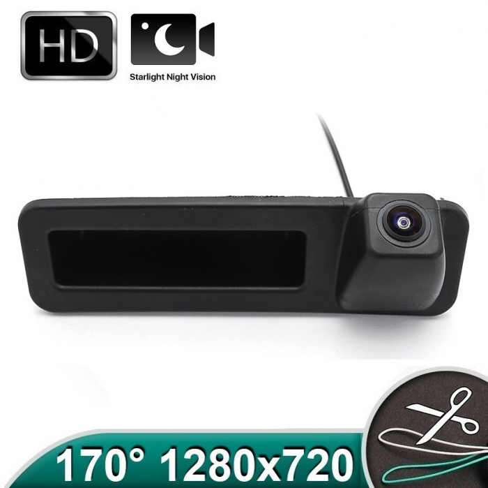 Camera marsarier HD, unghi 170 grade, StarLight Night Vision BMW G20, G30, F52, X1 F48 F49, X2 F39, X3 G08, X4 G02, X5 G05, X6 G06 - FA8043 [0]