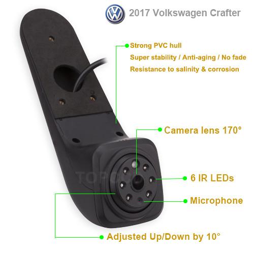 Camera marsarier Volkswagen Crafter 2017 - prezent (RC475) 815CL [4]