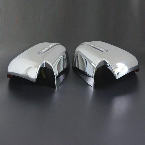 Capace oglinzi cromate cu LED Mitsubishi L200 Triton 2015, 2016, 2017, 2018, 2019 MLT15DMCLC [1]