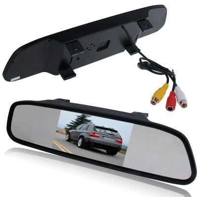 """Display auto LCD 4.3"""" D703 pe oglinda retrovizoare [0]"""