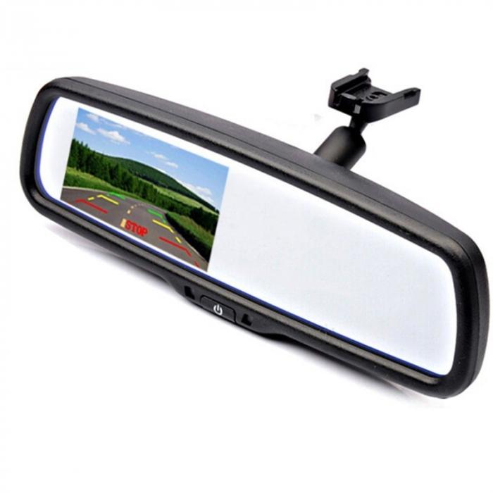 """Display auto LCD 4.3"""" D705-H pe oglinda retrovizoare [0]"""