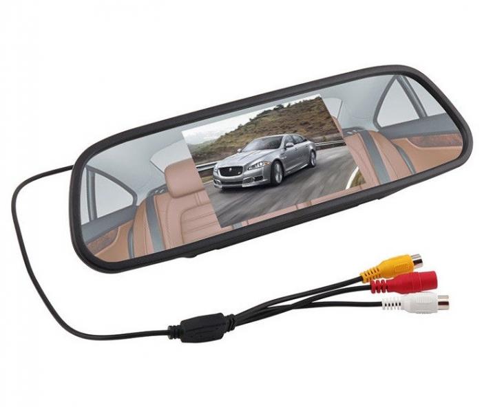 """Display auto LCD 5"""" D706-C pe oglinda retrovizoare [0]"""