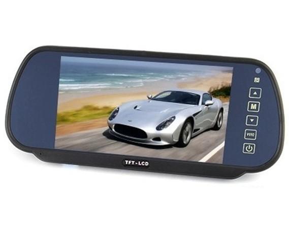 """Display auto LCD 7"""" D706 pe oglinda retrovizoare [0]"""