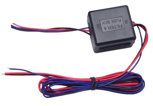Filtru stabilizator 12V camera marsarier si senzori de parcare [0]