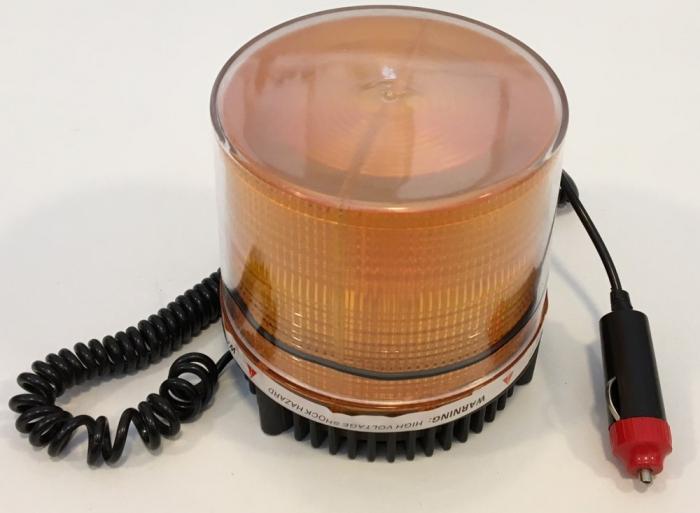 Girofar magnetic cu Leduri 24V cu lumina tip stroboscop JSM-125 [0]