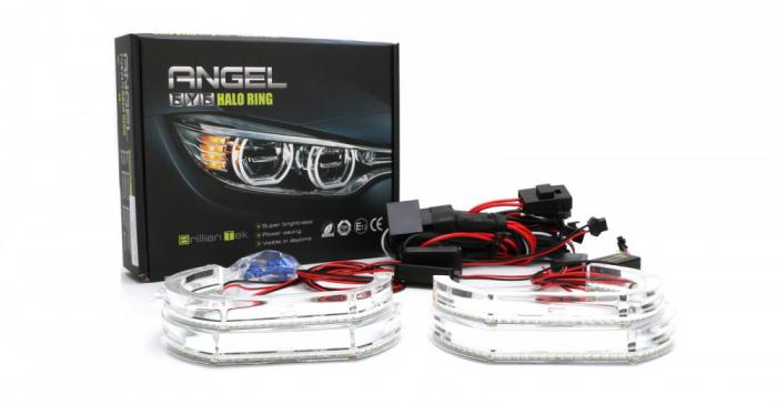Kit Angel Eyes SMD DTM pentru BMW F30, F36 (BMW Seria 3 2011+; Seria 4 2013+) [1]