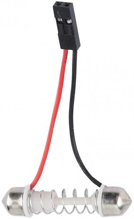Lampa colorata cu telecomanda 24 LED [5]