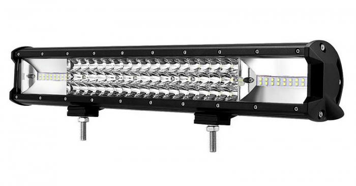 """LED Bar Auto 270W, leduri pe 3 randuri, 12V-24V, 18900 Lumeni, 20""""/50,8 cm, Combo Beam 12/60 Grade [0]"""