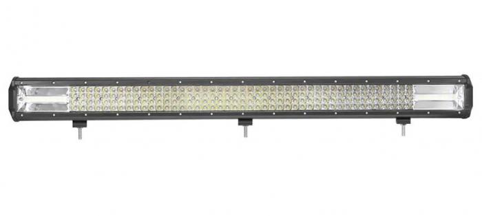 """LED Bar Auto 594W, leduri pe 3 randuri, 12V-24V, 41580 Lumeni, 40.5""""/103,5 cm, Combo Beam 12/60 Grade [0]"""