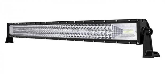 """LED Bar Auto 594W, leduri pe 3 randuri, 12V-24V, 41580 Lumeni, 42""""/107 cm, Combo Beam 12/60 Grade [0]"""