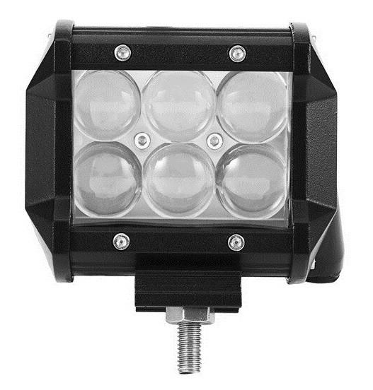 """LED Bar Auto Offroad 4D 18W/12V-24V, 1530 Lumeni, 4""""/10 cm, Spot Beam 12 Grade [0]"""