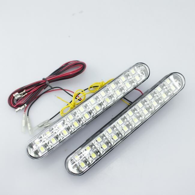 Lumini de zi DRL cu semnalizare 20 led*0,3W [0]