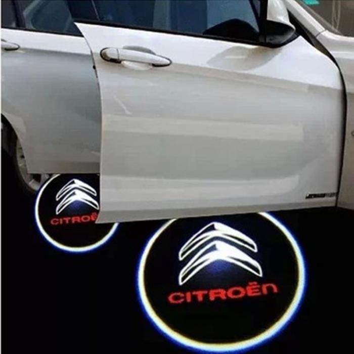 Proiectoare Portiere cu Logo Citroen [0]