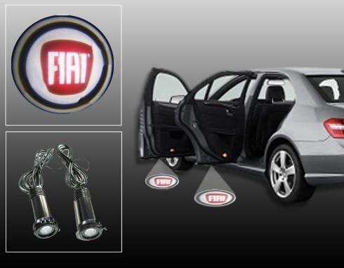 Proiectoare Portiere cu Logo Fiat [0]