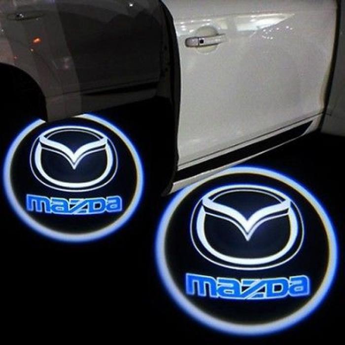 Proiectoare Portiere cu Logo Mazda [1]