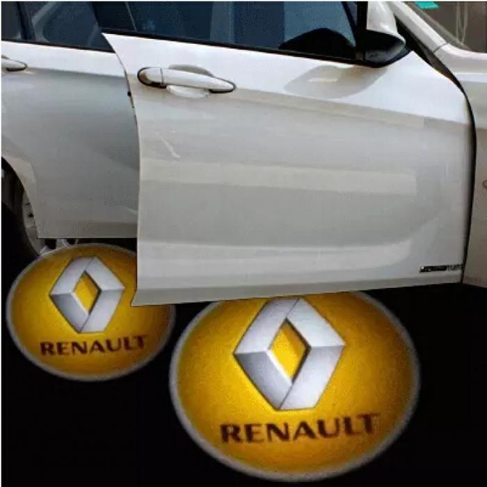 Proiectoare Portiere cu Logo Renault [0]