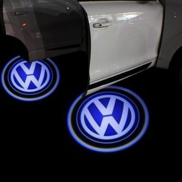 Proiectoare Portiere cu Logo Volkswagen [0]