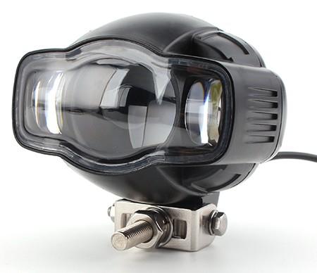 Proiector LED ATV, Moto putere 20W, 2000 Lm, cu incarcator USB [0]