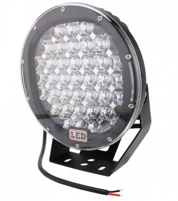 Proiector LED Auto Offroad 185W/12V-24V 13875 Lumeni, Rotund, Spot Beam 30 Grade [0]
