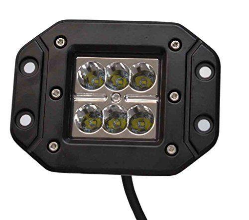 Proiector LED Auto Offroad 18W/12V-24V, 1320 Lumeni, Incastrabil, Spot Beam 8 Grade [0]