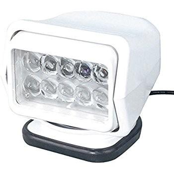 Proiector LED Rotativ cu Telecomanda Wireless 50W, 4000 lumeni, SPOT Beam, Alb [0]