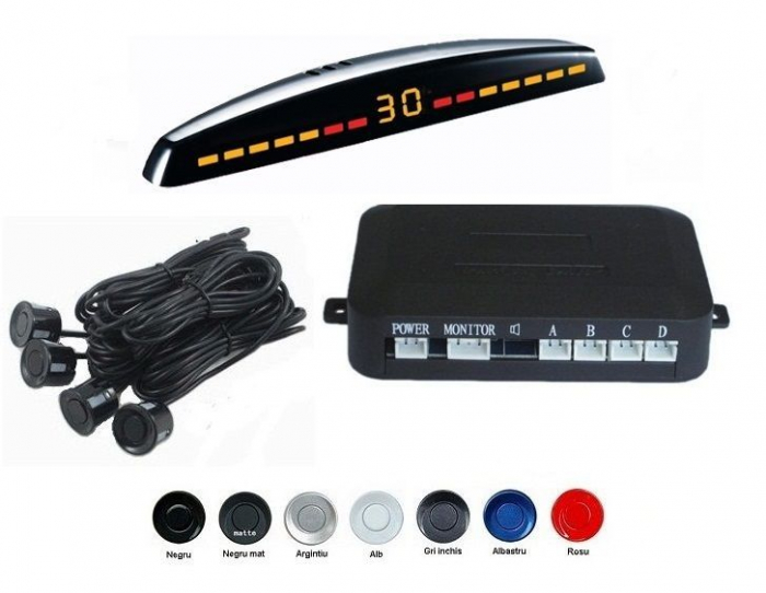 Senzori parcare cu display LED S309 [0]