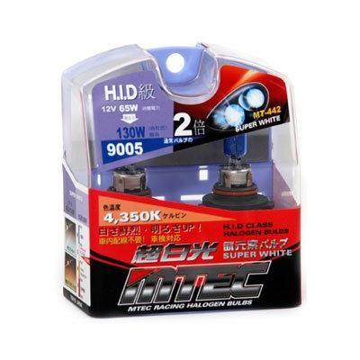 SET 2 BECURI AUTO HB3 (9005) MTEC SUPER WHITE - XENON EFFECT [0]