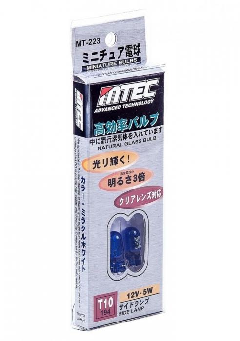 SET 2 BECURI MTEC W5W (T10) - XENON EFFECT [1]