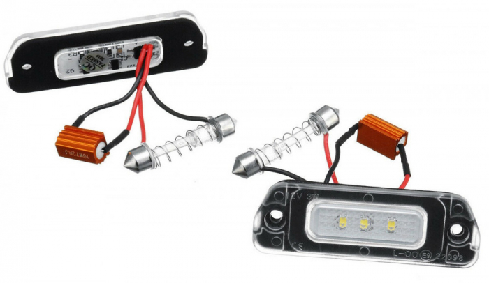 Set 2 Lampi Numar Led Mercedes-Benz ML W164, R W251, GL X164 - BTLL-254 [0]