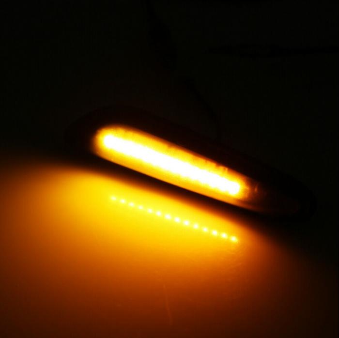 Set 2 Semnalizari Aripa LED pentru BMW X1 E84, X3 E83, E60, E90, E91, E92, E93, E81, E82, E88 - BTLL-240 [1]