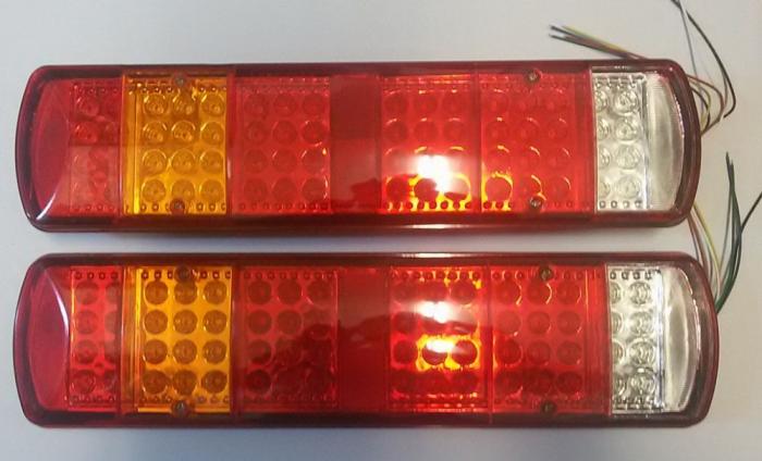 Set 2 Stopuri LED camion 24V cu 5 functii 051-24V [1]