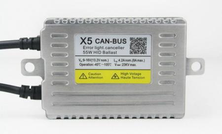 Ballast xenon X5 Canbus Slim 55W [0]
