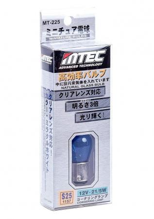 BEC AUTO MTEC P21W (S25/1157) CU DUBLA INTENSITATE - XENON EFFECT [1]