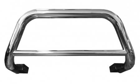 Bullbar inox Toyota Hilux 2005, 2006, 2007, 2008, 2009, 2010, 2011 76mm TYA158 [1]