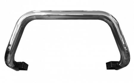 Bullbar inox Toyota Hilux Revo 2015, 2016, 2017, 2018, 2019 Ø76mm TYA403 [1]