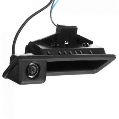 Camera marsarier BMW E39, E60, E90, E70 pe manerul de portbagaj - LS8003 [0]