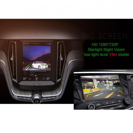 Camera marsarier HD, unghi 170 grade, StarLight Night Vision BMW G20, G30, F52, X1 F48 F49, X2 F39, X3 G08, X4 G02, X5 G05, X6 G06 - FA8043 [1]