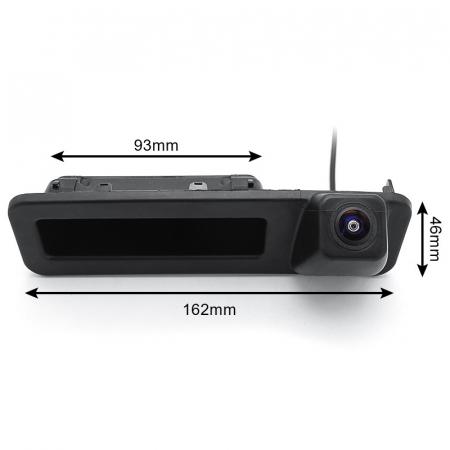Camera marsarier HD, unghi 170 grade, StarLight Night Vision BMW G20, G30, F52, X1 F48 F49, X2 F39, X3 G08, X4 G02, X5 G05, X6 G06 - FA8043 [5]
