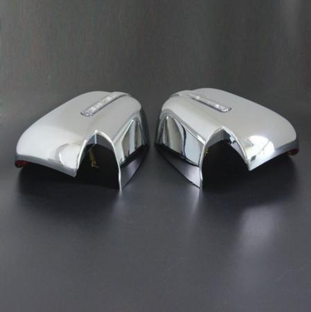 Capace oglinzi cromate cu LED Mitsubishi L200 Triton 2015, 2016, 2017, 2018, 2019 MLT15DMCLC [0]