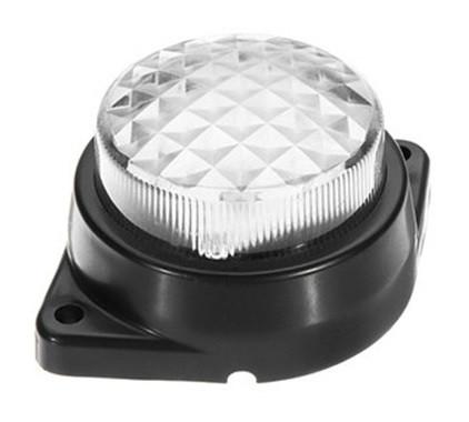 Lampa laterala / gabarit cu LED 24V Alba cu 6 Leduri #124 [1]