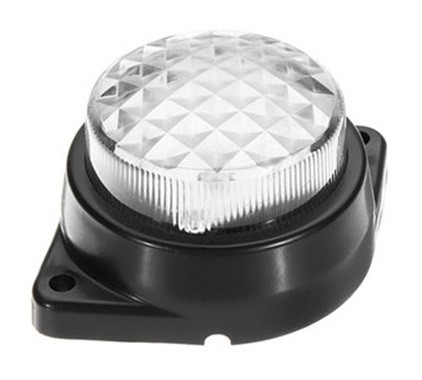 Lampa laterala / gabarit cu LED 24V Alba cu 6 Leduri #124 [0]