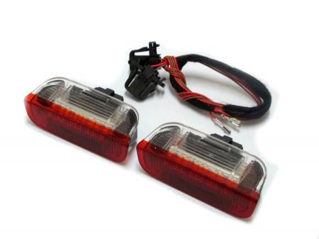 Lampi cu LED Portiera Spate VW, SEAT, SKODA Alb/Rosu - BTLL-062 [0]