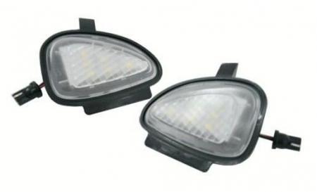Lampi LED Undermirror VW Golf 6, Golf 6 Gti 2009~, Golf Cabriolet 2012~, Touran 2010~ - BTLL058 [0]